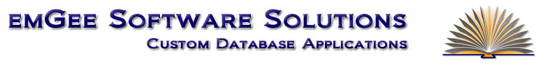 emGee Software Solutions Custom Database Applications